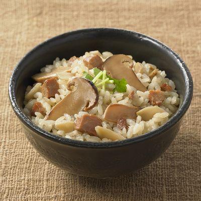 松茸ご飯1